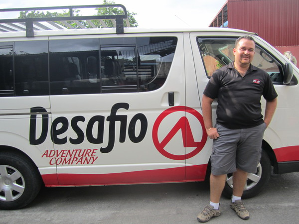 Friendly Desafio drivers from Esterillos de San Jose in Costa Rica.