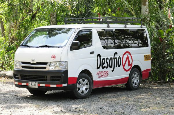 Book with Desafio and receive the best service and transportation in Costa Rica.