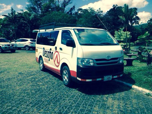 Desafio offers excellent transportation from San Jose to Guapiles.