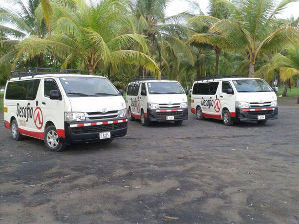 Desafio offers the best transportation from San Jose to the Panama boarder.