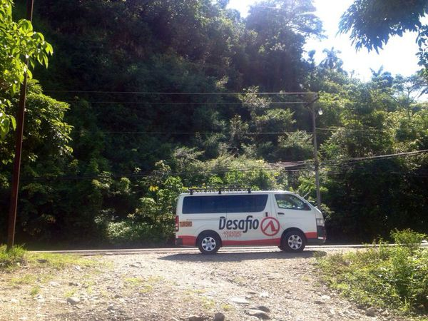 Transportation from San Jose to Puerto Viejo Limon with Desafio.