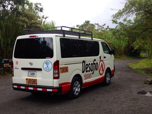 Desafio offers the best private transfer from San Jose to Rincon de la Vieja.