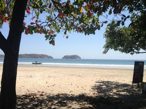 Playa Samara is one of the most picturesque beaches in Costa Rica.