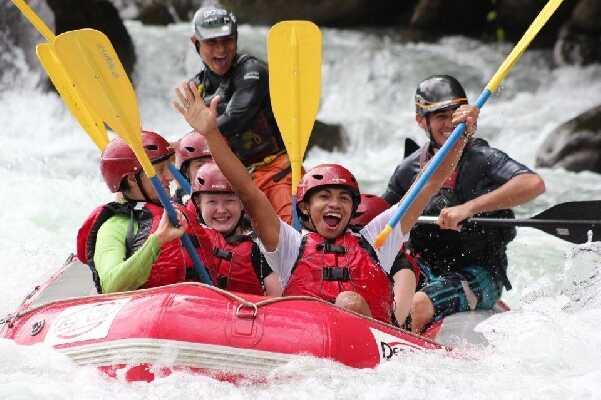 Get ready to enjoy the Sarapiqui River