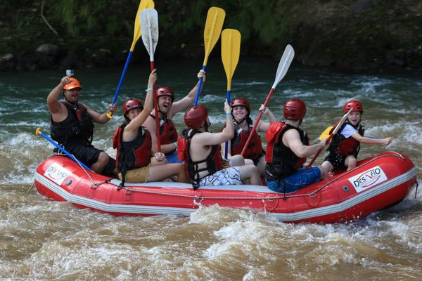 hallenge yourself by paddling down over 10 kilometers of continuous, exciting rapids