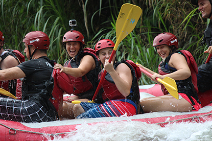 You will love the rafting in Costa Rica.