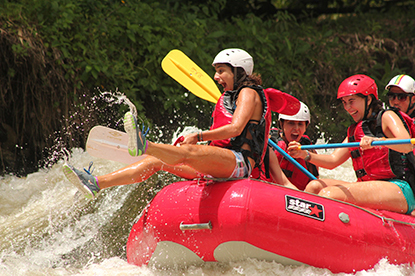 So much fun rafting in Costa Rica with Desafio.