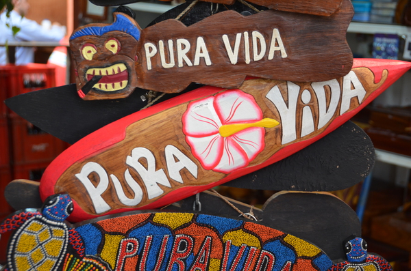 Pura vida in San Jose walking tour