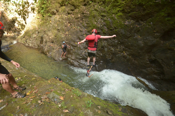San Jose to Arenal with Gravity Falls Waterfall Jumping