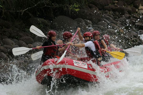 Experience the best rafting in Costa Rica