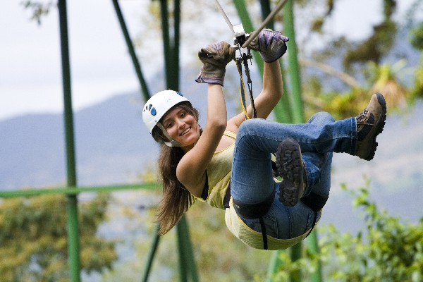 Lets do it at Sky Adventures Arenal.
