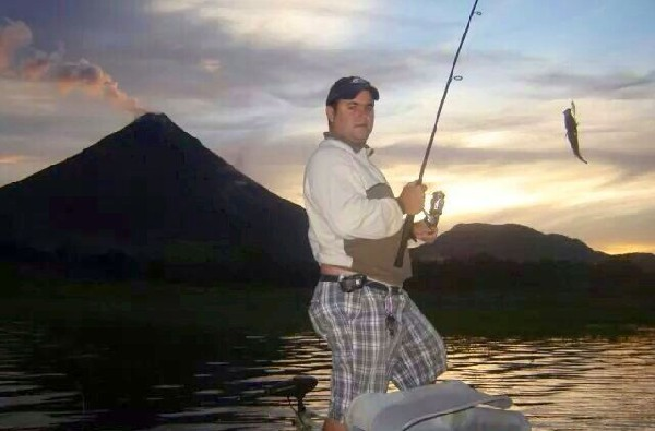 Enjoy a half day of fishing on beautiful Lake Arenal!
