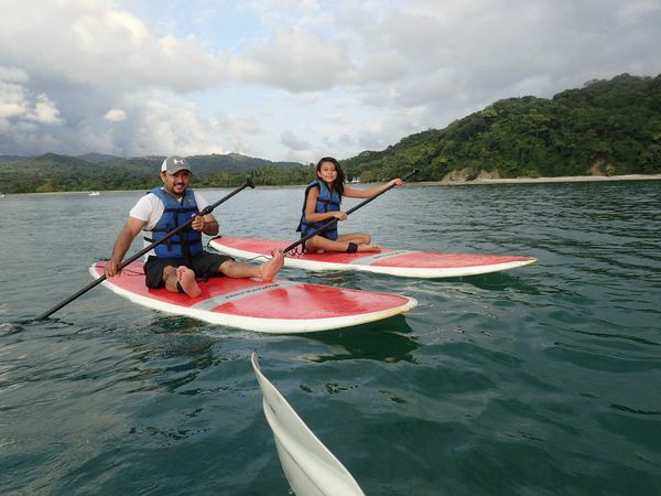 Sup is a great activity for families