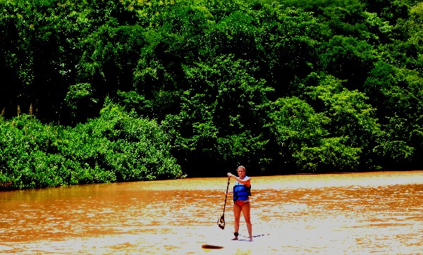 Come experience the beauty of Rio Ora. Learn Stand Up Paddling in the perfect tranquil scenery with wildlife all around you!