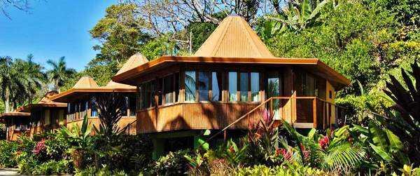 Lovely cabins at Tango Mar in Playa Tambor.