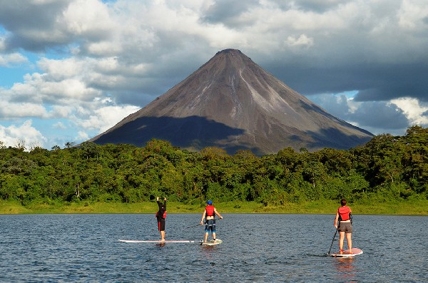 Team Building on Lake Arenal