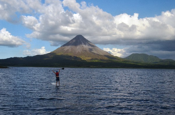 Arenal Volcano area is the epicenter of the Adventure in Costa Rica