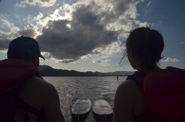 The calm waters in Arenal make this a perfect sport for people of all ages