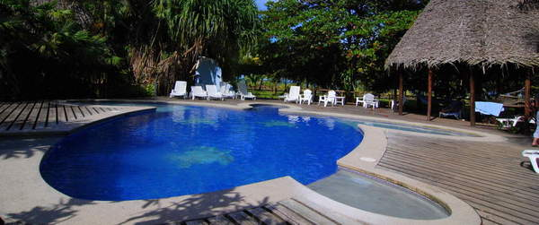 Excellent pools for families in Tortuguero Turtle Beach Lodge.