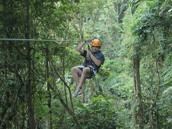 Best zipline in Arenal with Desafio.