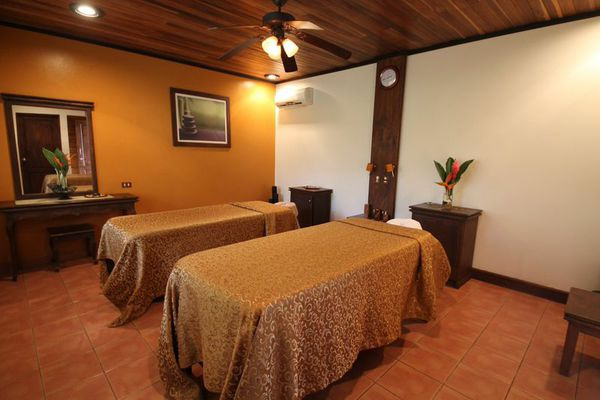 Spa on property where you can enjoy massages and more at Volcano Lodge & Springs in La Fortuna, Costa Rica. As a partner hotel to Desafio, we can get you the best deal on hotels and your entire Costa Rica vacation!