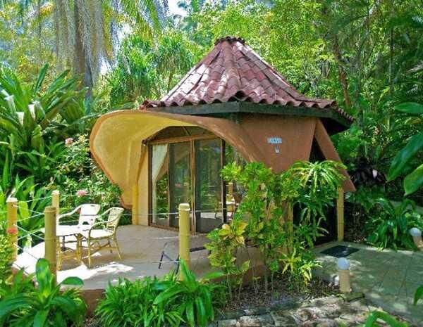Impressive accommodations at Ylang Ylang Beach Resort in Montezuma.