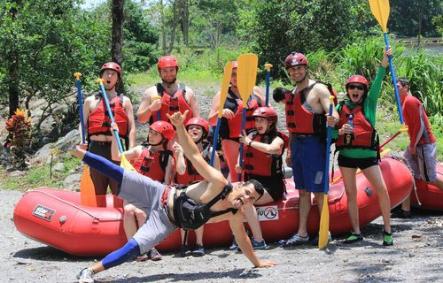 Incentive groups choose Costa Rica as en excellent destination for teambuilding.