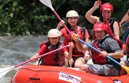 Desafio, whitewater rafting, adventure, Balsa River, Costa Rica