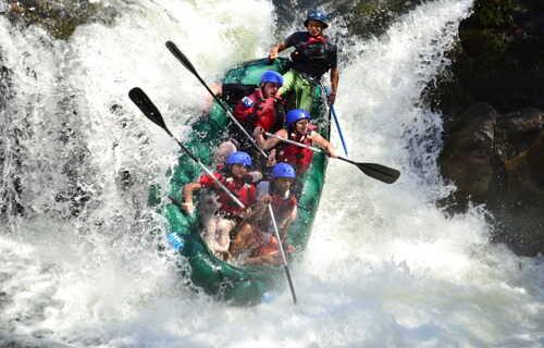 Desafio Lanza Rafting Extremo desde Monteverde