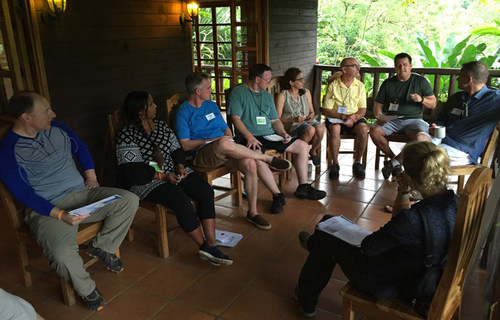 Executive Thought Leadership Conference in Costa Rica with Desafio Adventure Company