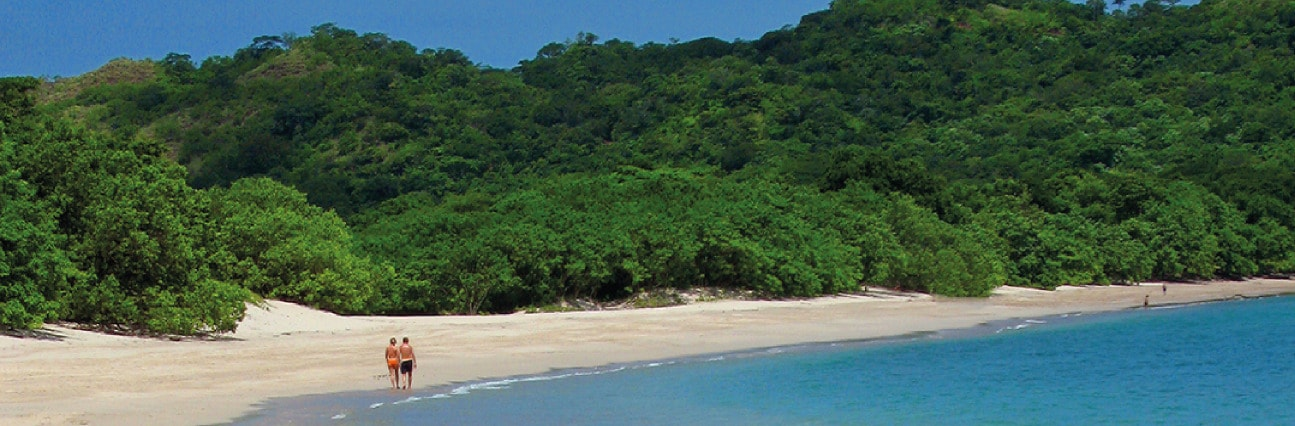 background map Volcano Jungle Beach of Costa Rica