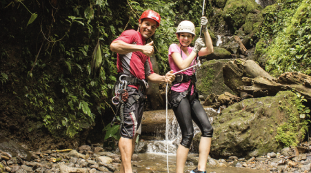 Adventure Awaits Canyoning