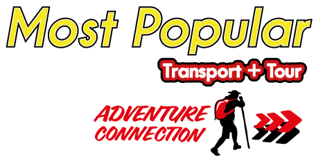 Most Popular Transport + Tour Adventure Connection