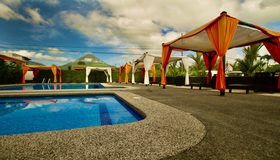 Hotel San Bosco in the center of La Fortuna is one of our favorite hotels for Desafio Adventure Company clients.