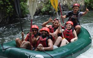 Adventure Connection Rafting on the Tenorio River Monteverde to Guanacaste.