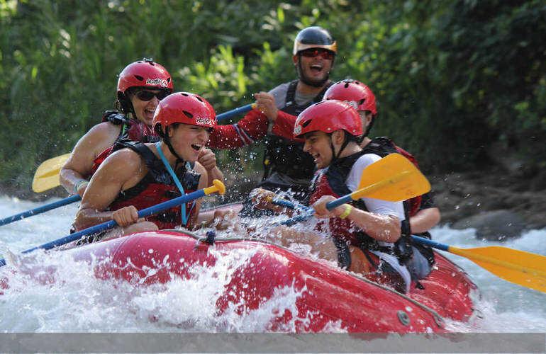 Arenal to Manuel Antonio Rafting