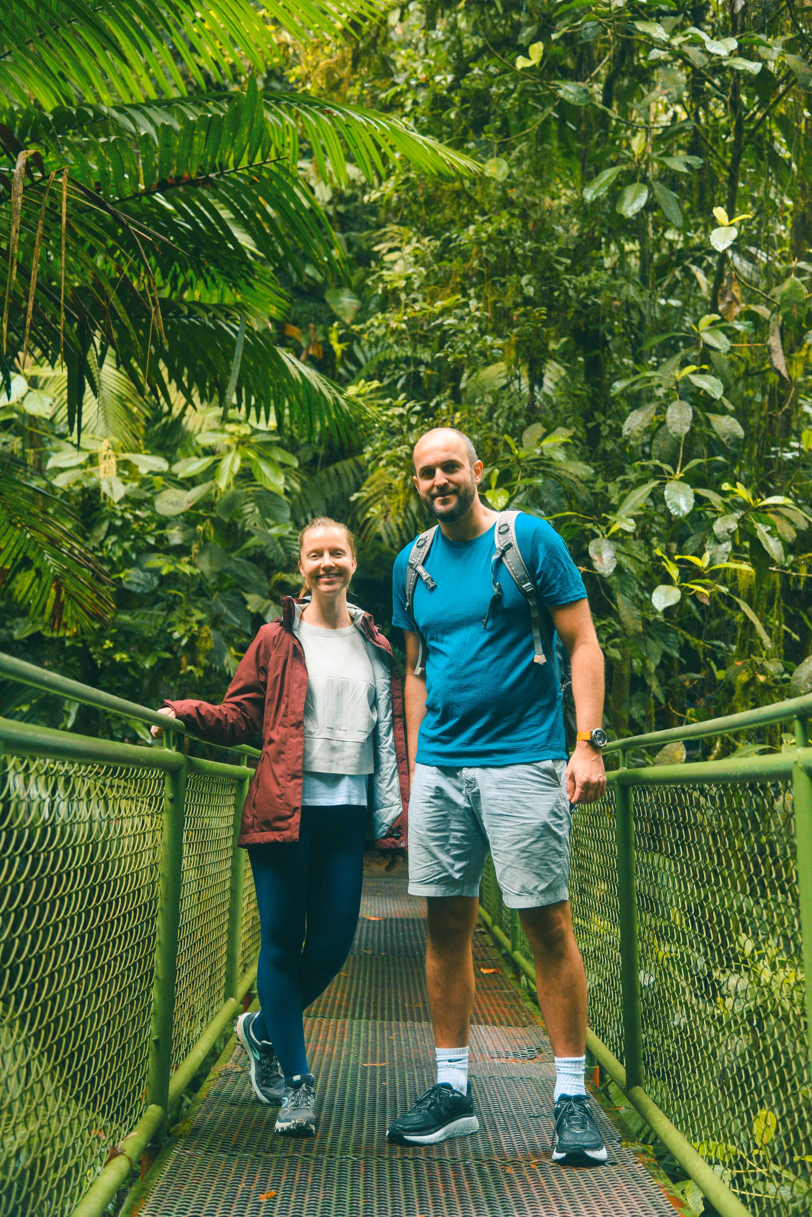 Appreciate wildlife with Desafio as you cross 15 different suspension bridges in Costa Rica!