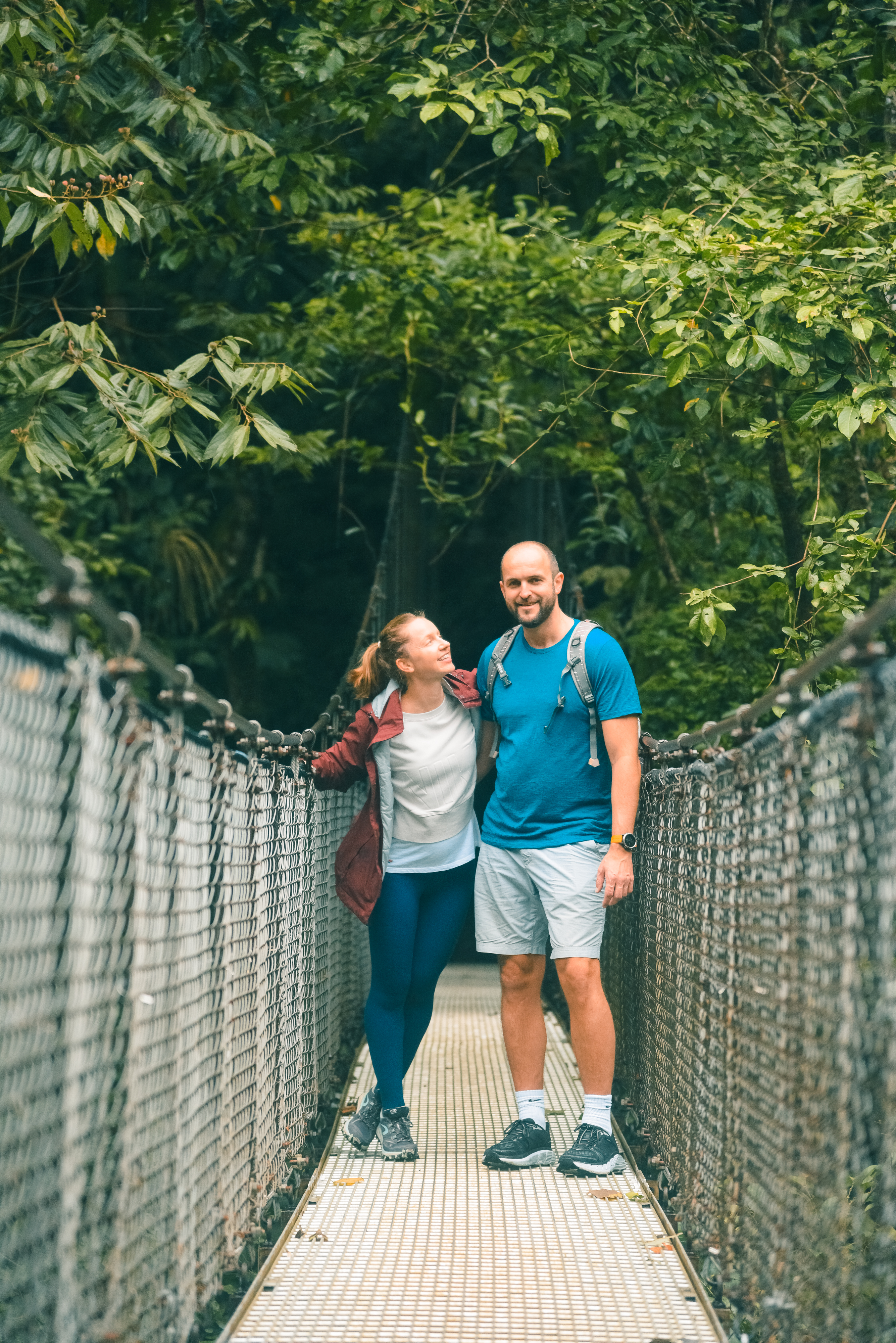 Be safe and have serious fun on our steady Mystical Hanging Bridges in La Fortuna Arenal Volcano!