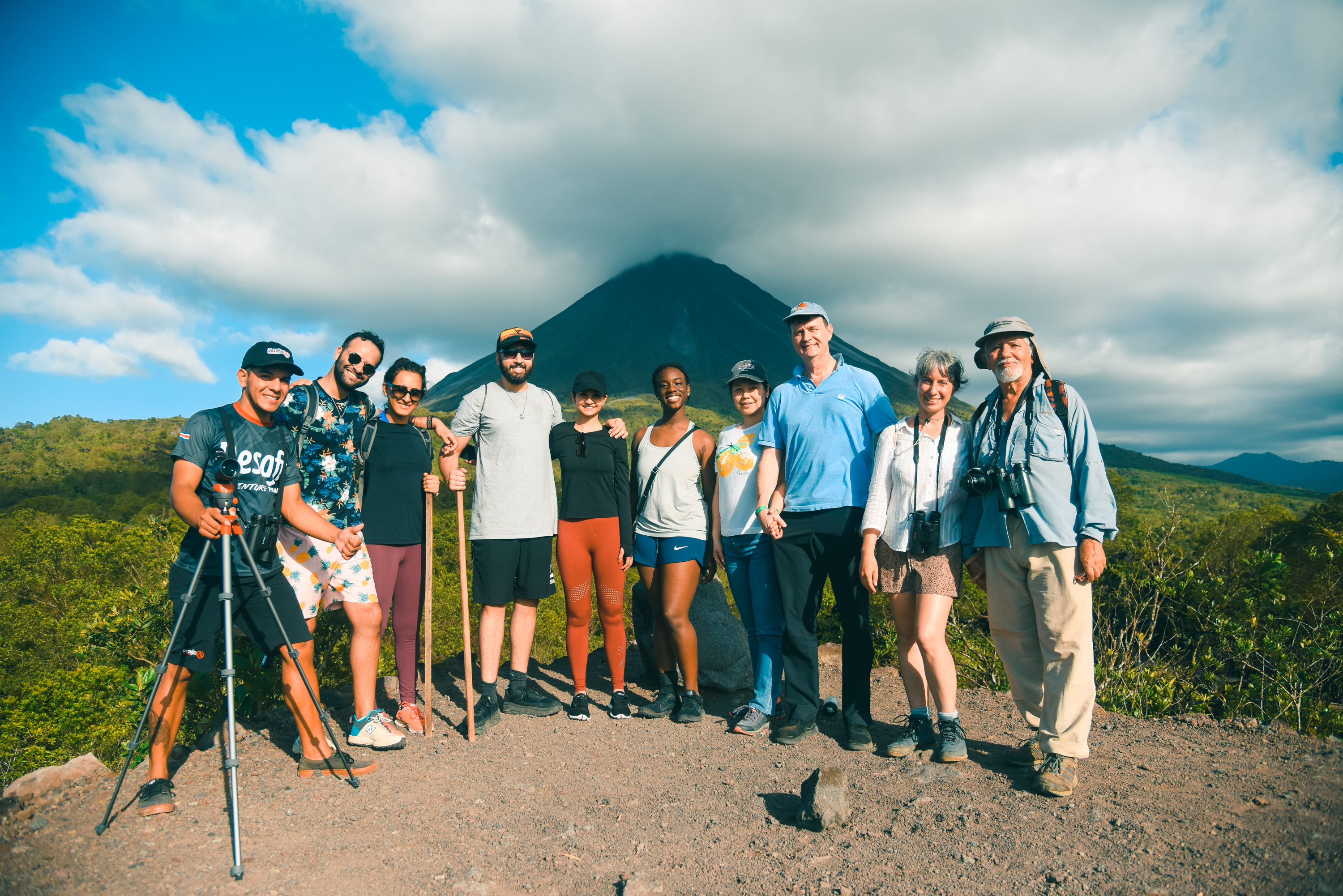 Experience the best view to Arenal Volcano with the pioneers of the adventure in Costa Rica!