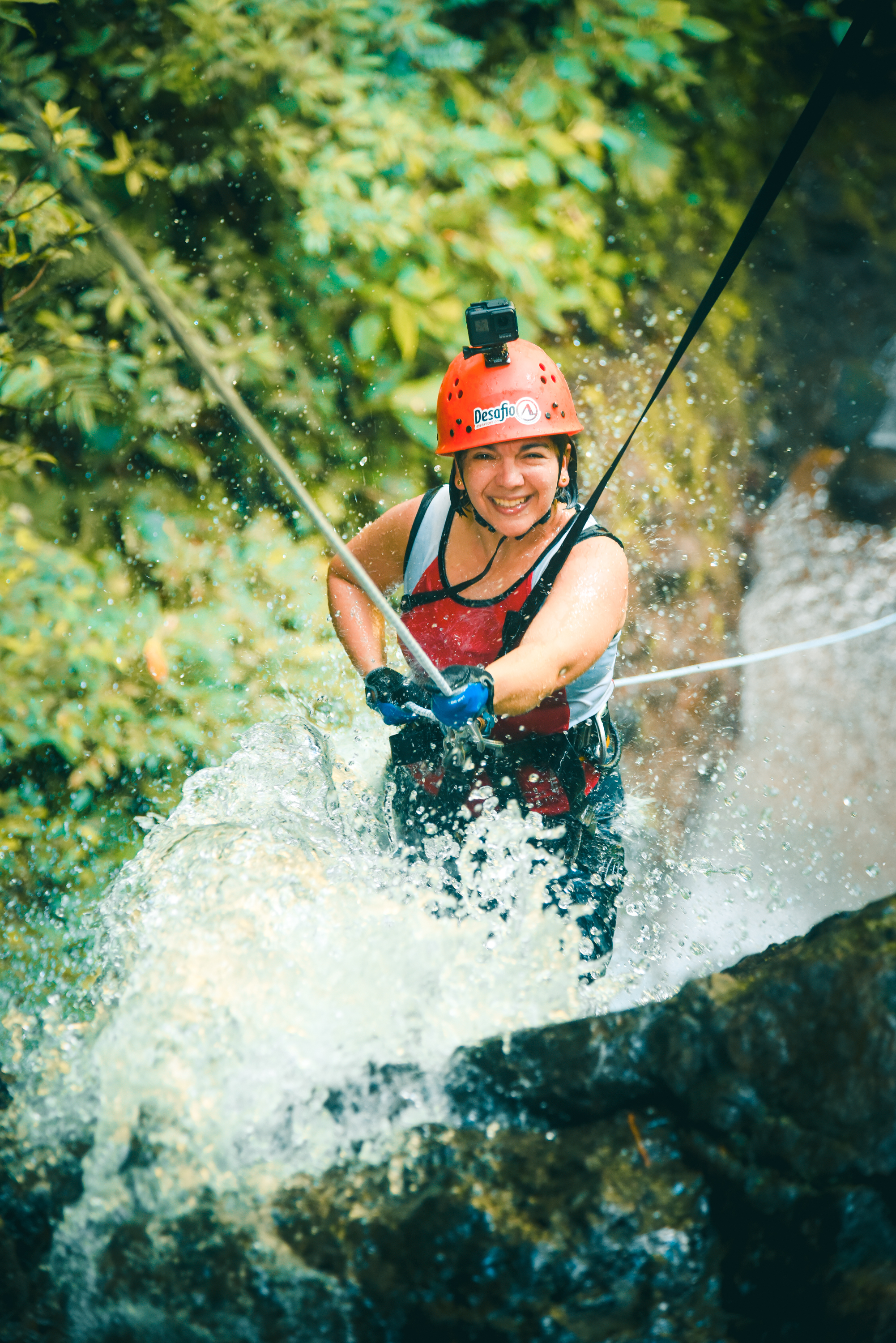 Get wet and wild in the Lost Canyon with Desafio Adventure Company.