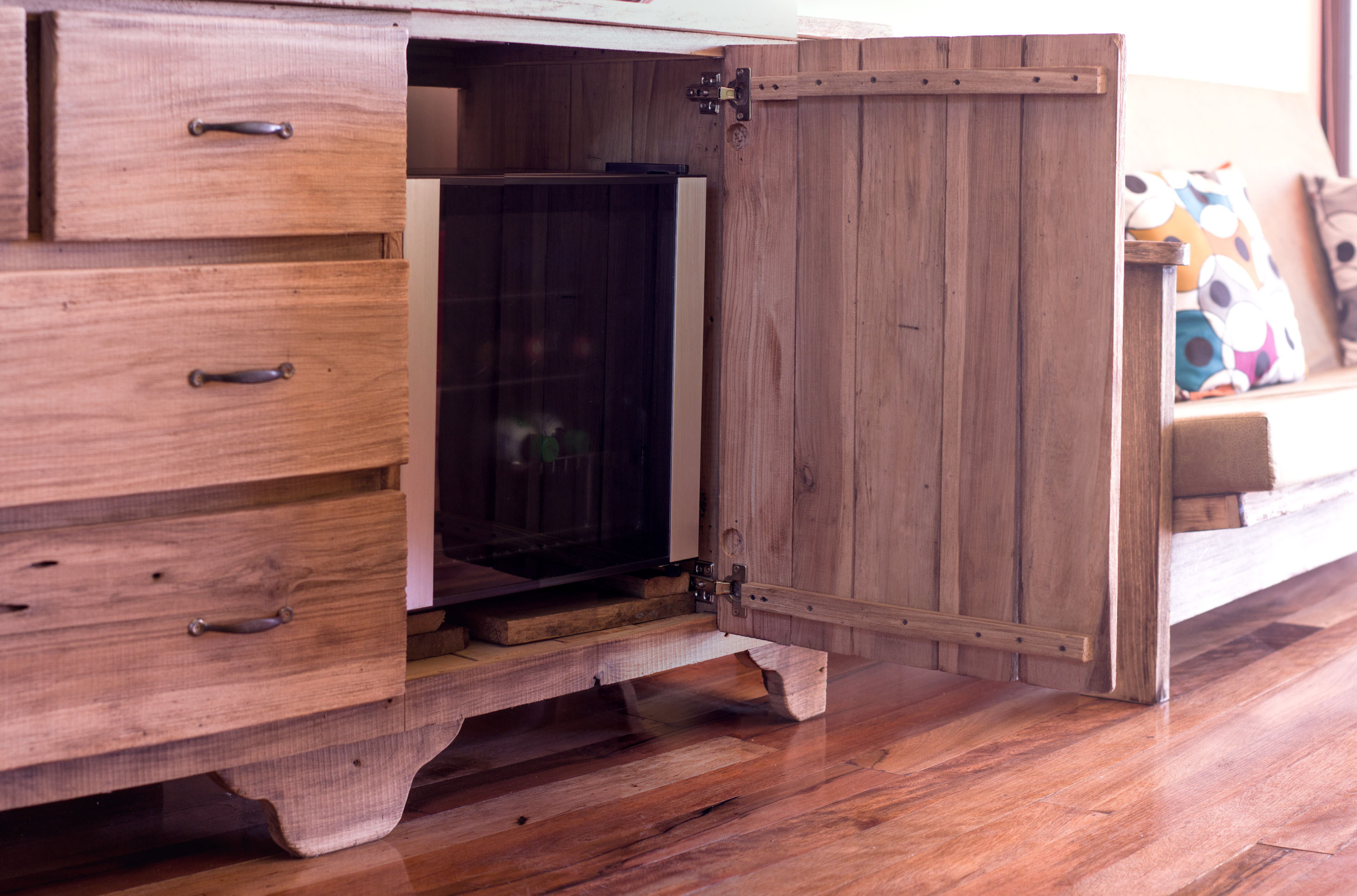 Minibar available in each suit