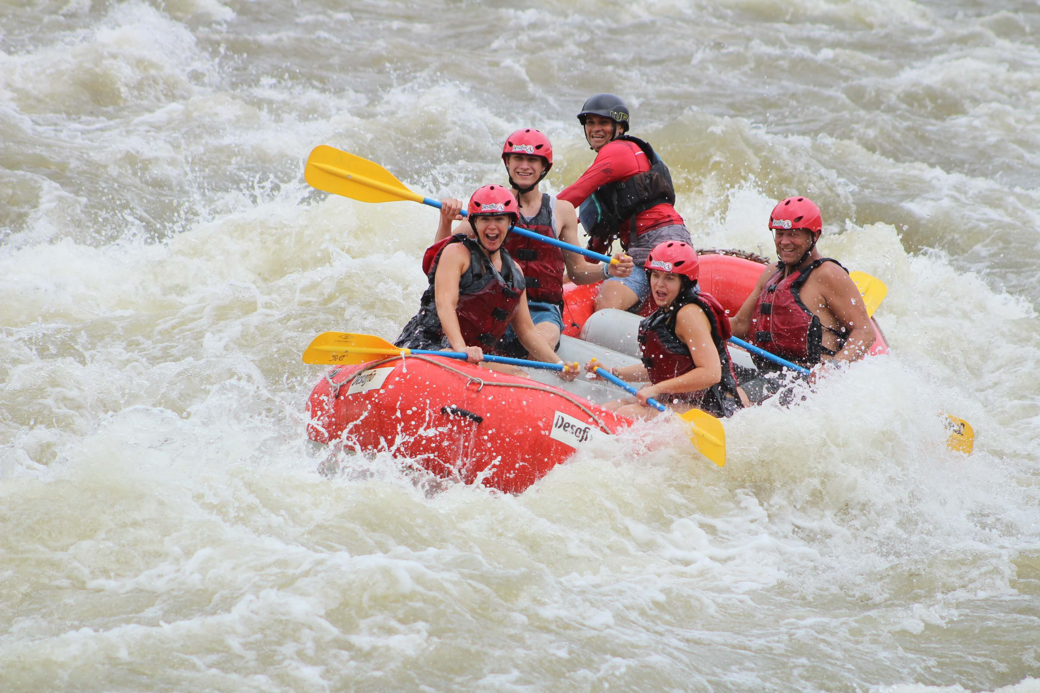 Get ready for one of the most-extreme white waterrafting trips in Costa Rica!