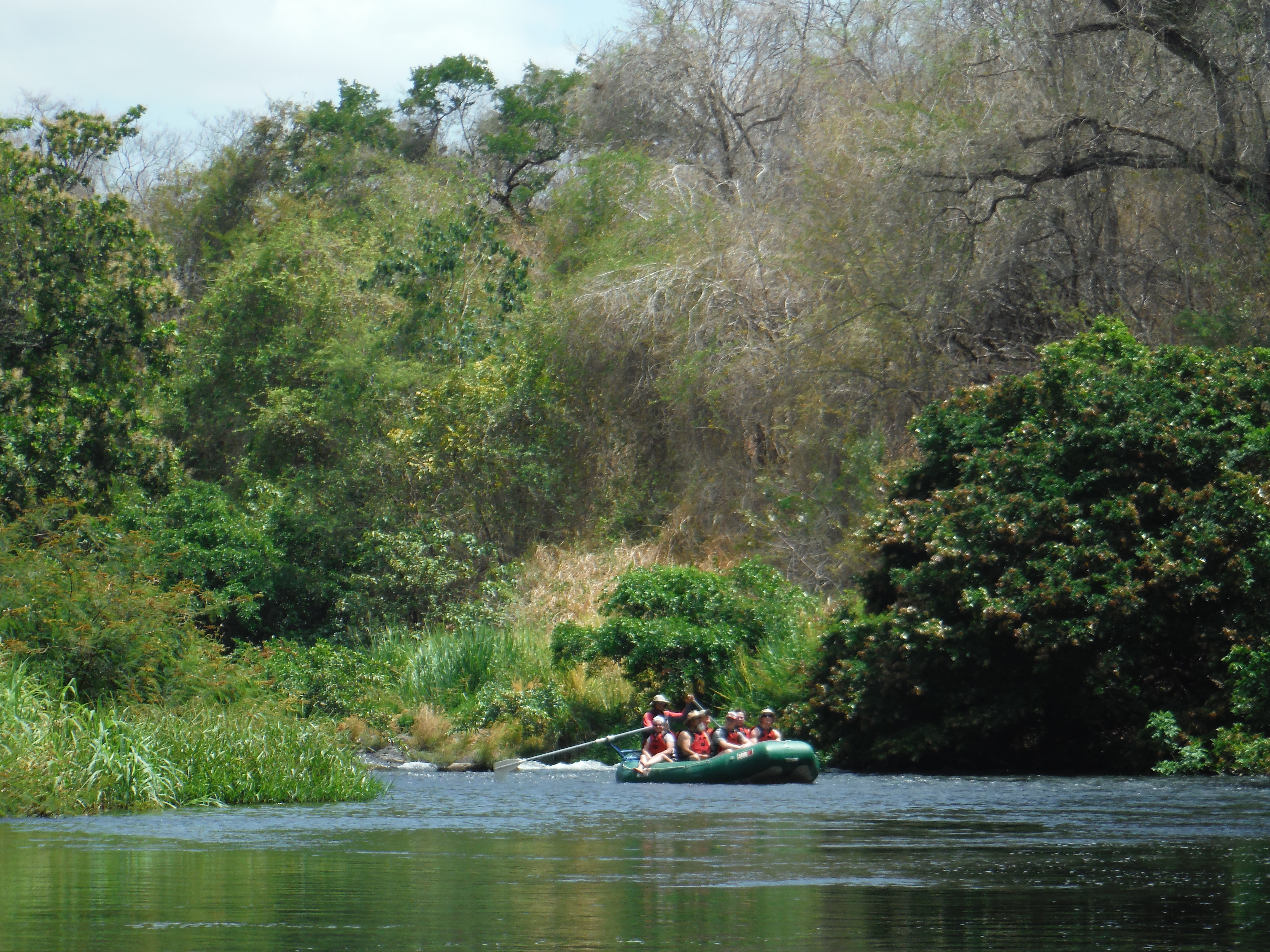 One of the best Day Tours from Playa Samara on a Safari Float trip on the Tenorio River in Costa Rica!