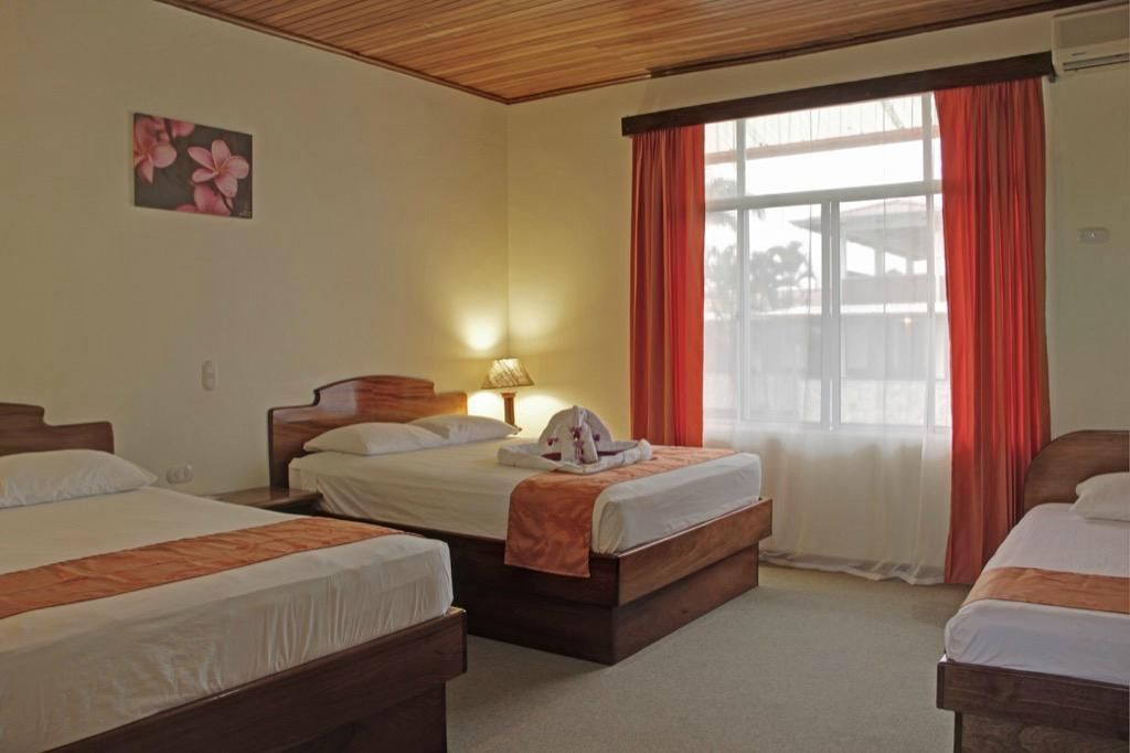 Be sure to book one of our favorite hotels in La Fortuna - the Hotel San Bosco - right in downtown.