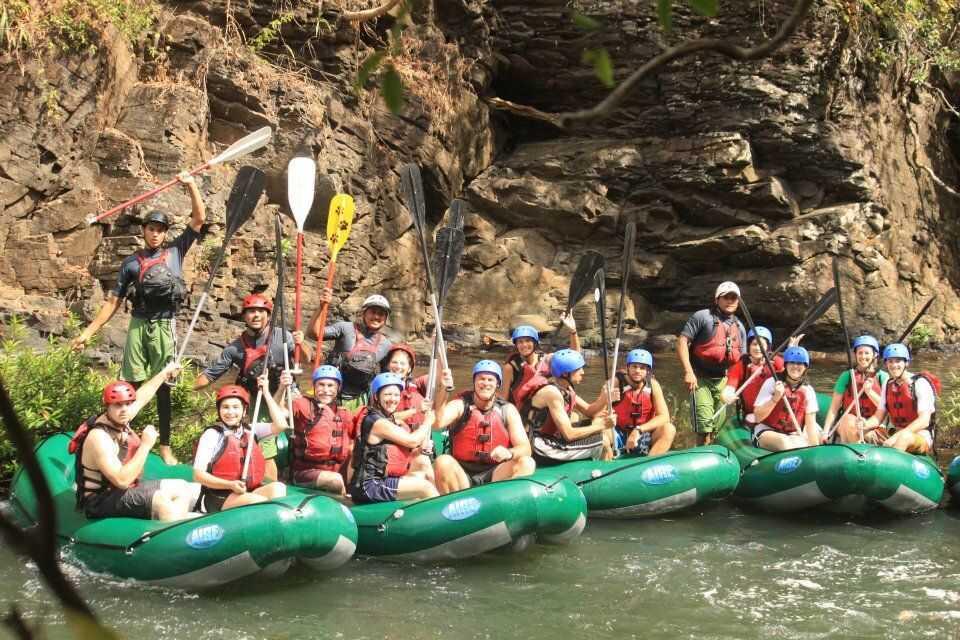 Monteverde to Guanacaste Day Tour Rafting Tenorio Class 3-4