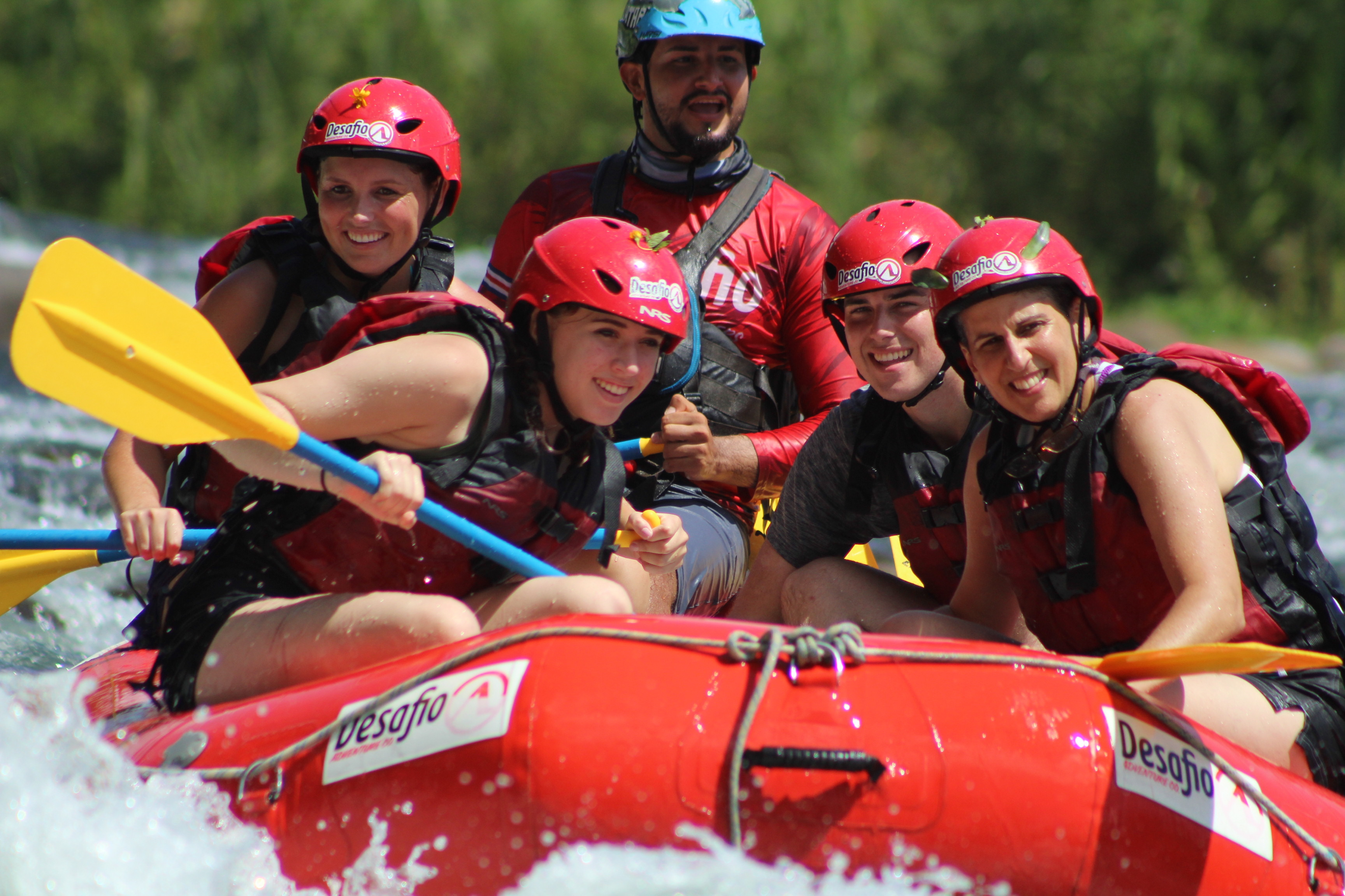Enjoy rafting through the rainforest in your own private boat and personal guide!