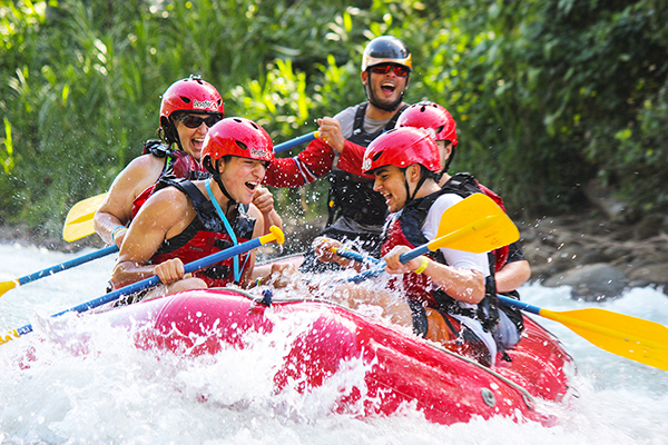 Rafting Class 2-3 Balsa River