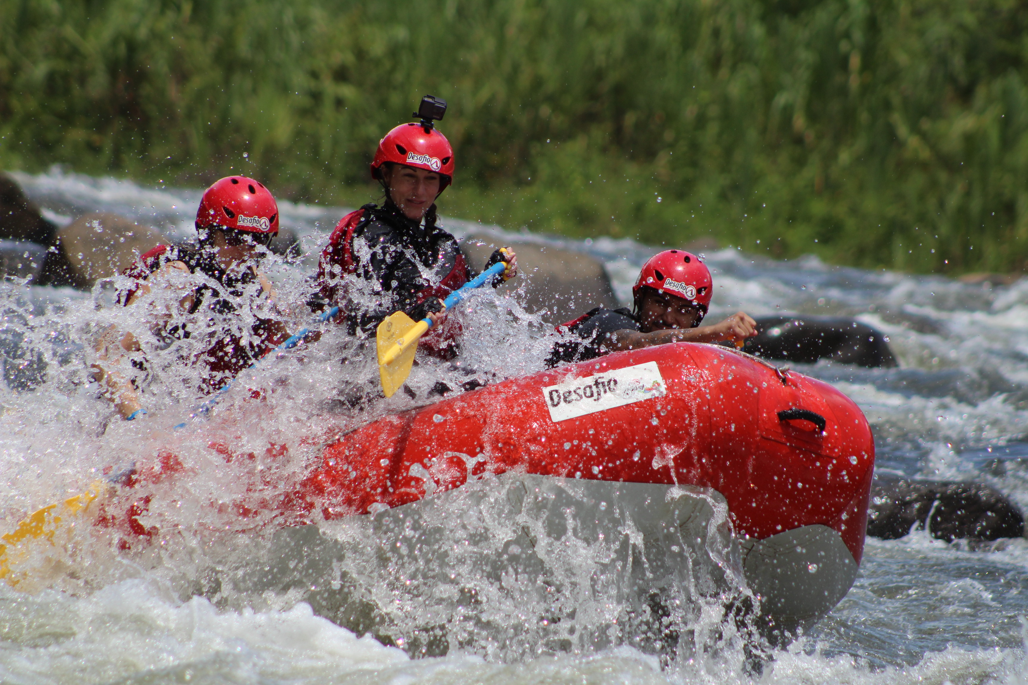 Go Rafting on the Sarapiqui River class 2-3 from San Jose!