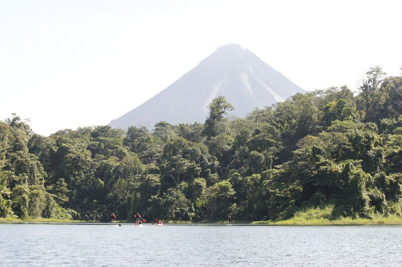 Come and see the Arenal Volcano from San Jose and go canyoning.