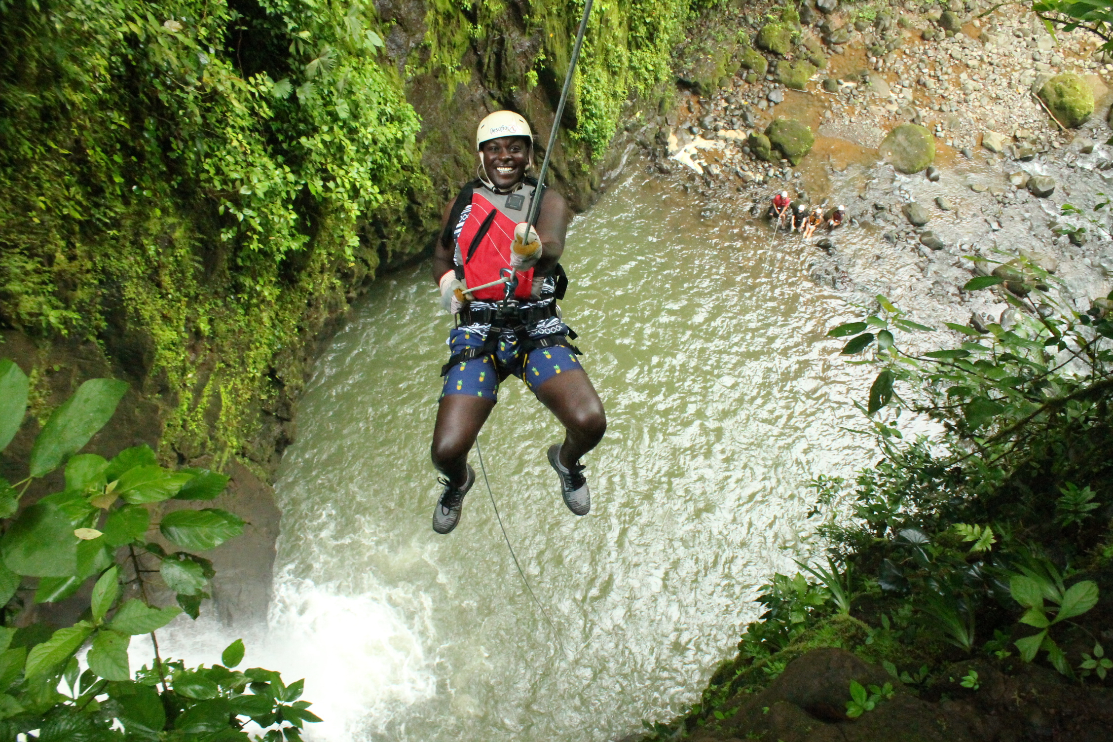 Extreme Tours in Costa Rica! Gravity Falls Waterfall Jumping
